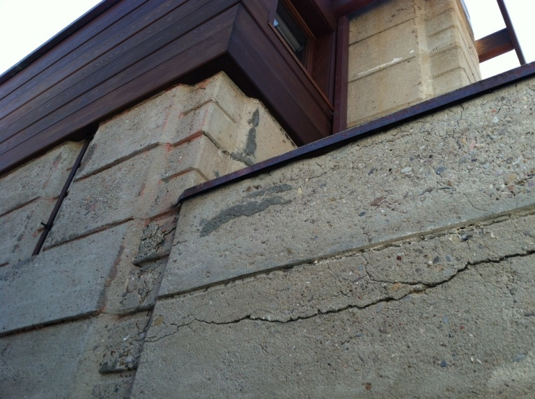 Exterior cracking